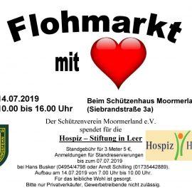 Flohmarkt mit Herz am 14.07.2019